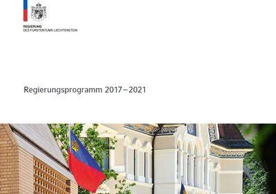 Regierungsprogramm 2017- 2021 Lichtenstein