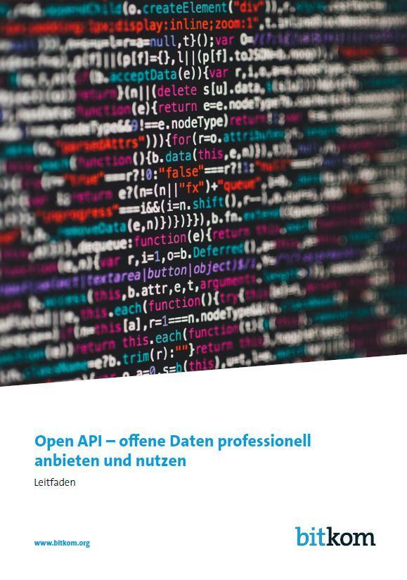 Open API – offene Daten professionell anbieten und nutzen